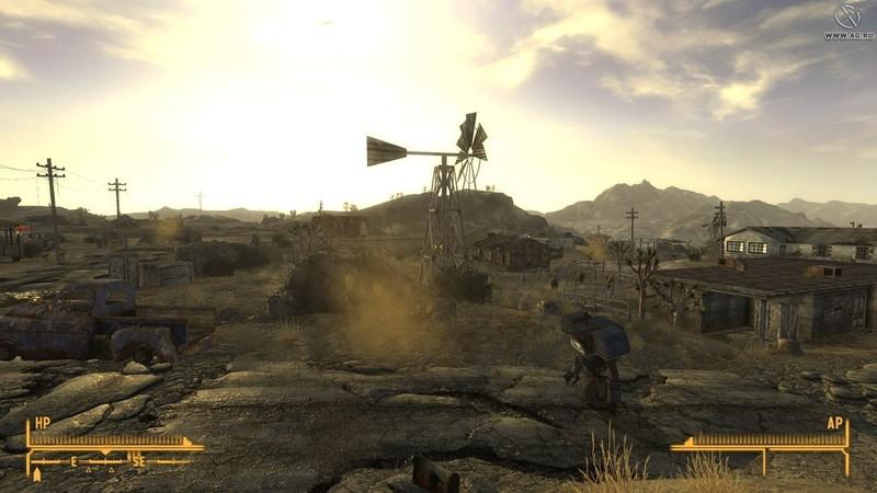 Fallout New Vegas скачать торрент Механики