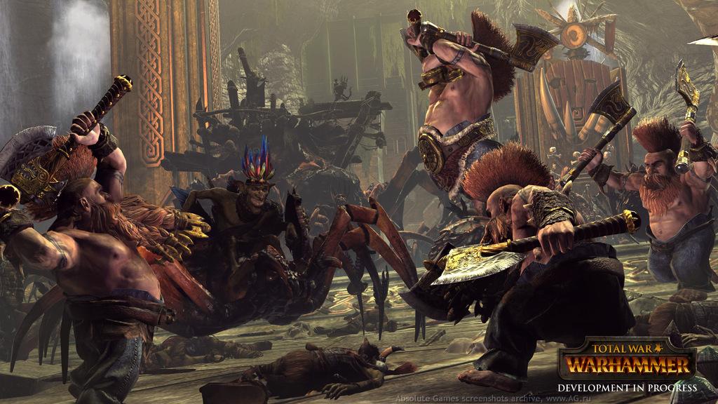 скачать игру Total War Warhammer через торрент от механиков - фото 2