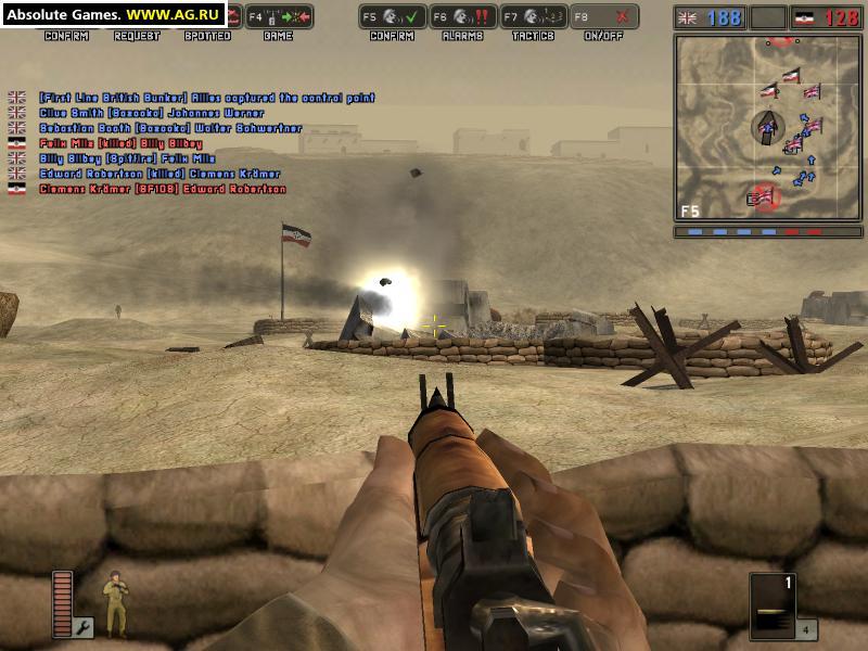 Battlefield 1942: трейнер/trainer (+11) [1. 0] {h4xx0r} читы.