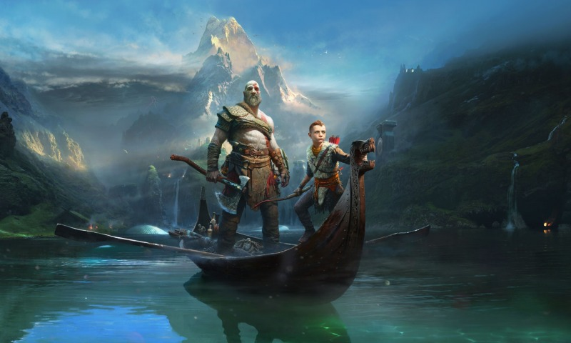 Авторы God of War не дали Кратосу возможность плавать